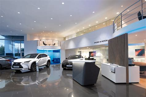lexus dealership interior lexus showroom by fitch arno europe 187 retail design