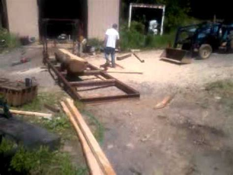 swing blade sawmill plans home made swing blade sawmill how to make do everything