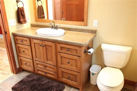 custom cabinets wi look bathroom cabinetry in merrill wi