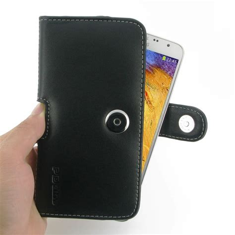 Leather Book Cover Samsung Galaxy Note 3 Neo samsung galaxy note 3 neo leather holster belt clip pdair