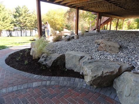Landscape Rock Deck Landscaping Contractors Chambersburg Pa Landscaping