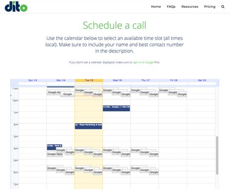 How To Embed Calendar How To Create Appointment Slots In Calendar