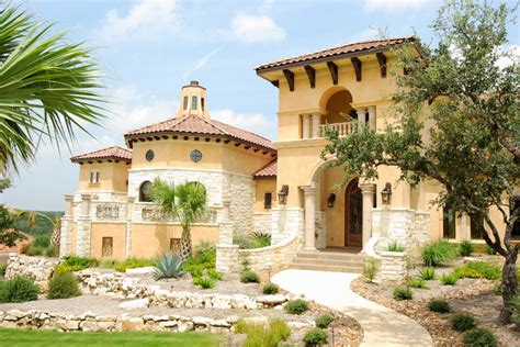 mediterranean custom homes glamorous mediterranean home in san antonio mediterranean exterior other metro by
