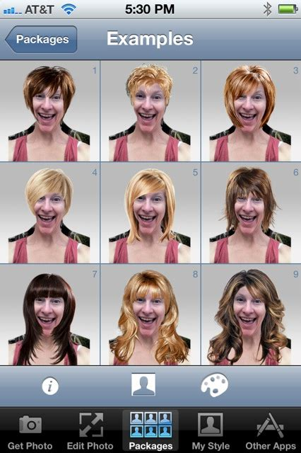 hairstyles facebook app apps and hair styles