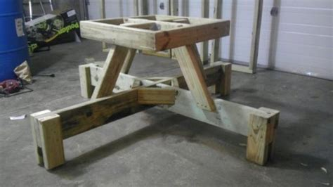 how to build a sex bench diy collapsible picnic table quick woodworking projects