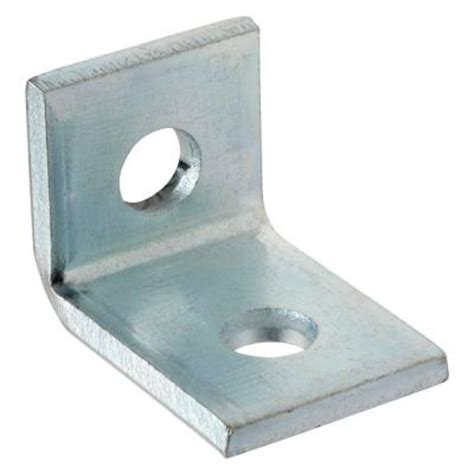superstrut 2 90 degree angle bracket silver