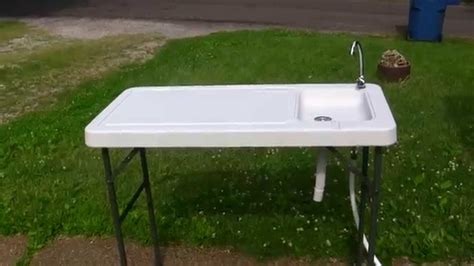 cabela s fish cleaning table cablas deluxe folding fish station doovi