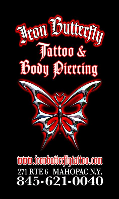 iron butterfly tattoo iron butterfly 271 route 6 mahopac ny united