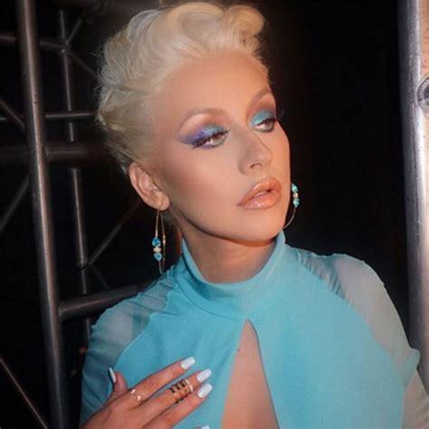 christina s christina aguilera s ombre eye makeup on the voice get