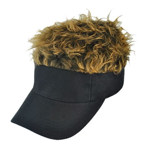 flair hair black visor visors