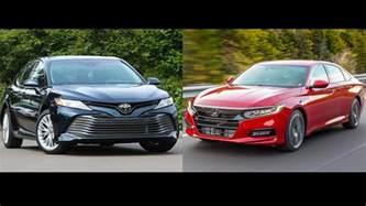 2018 honda accord vs 2018 toyota camry the family sedan