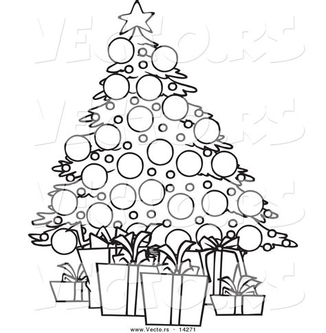 Outline Coloring Pages Christmas Tree Outline Coloring Outline Coloring Pages