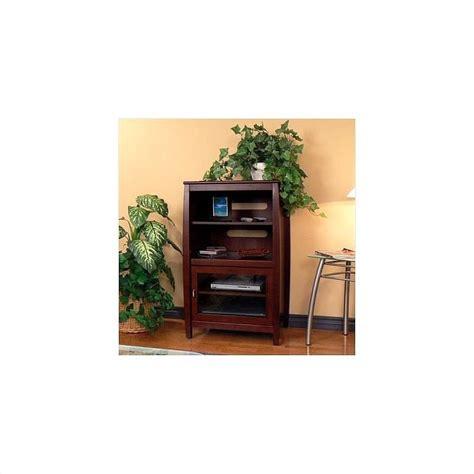 Wood Audio Rack by Walnut 40 Quot Wood Audio Rack Swh4024
