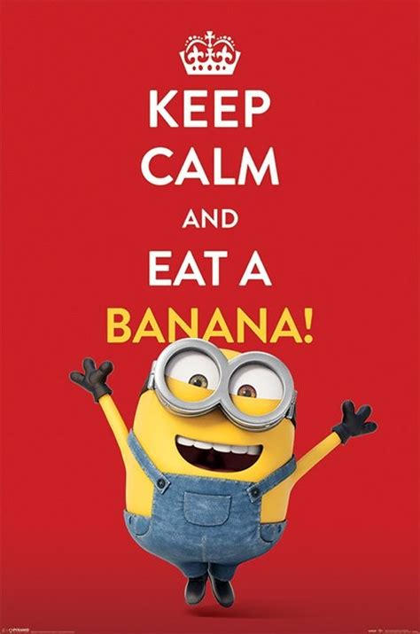 printable minion poster minions keep calm poster sold at europosters