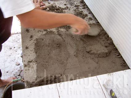 cara membuat lu hias minimalis jumpinjack memasang keramik dinding dan meja dapur part 2