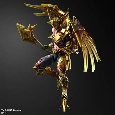Play Arts Darkseid Dc Variant Kw play arts variants of darkseid and hawkman from square