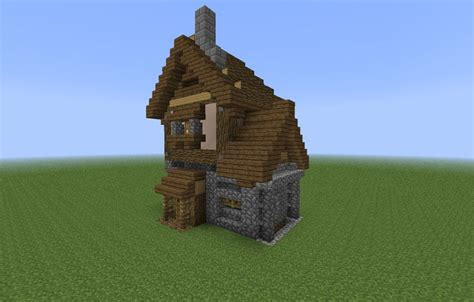 smallest minecraft house small medieval house minecraft minecraft pinterest design chalets and house