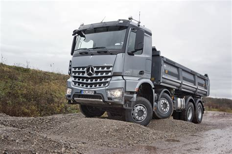 mercedes truck mercedes benz blog new mercedes benz arocs construction
