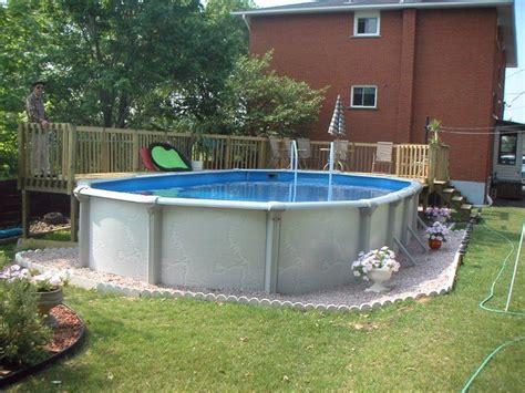 backyard above ground pool landscaping ideas backyard landscaping ideas with above ground pool ztil news