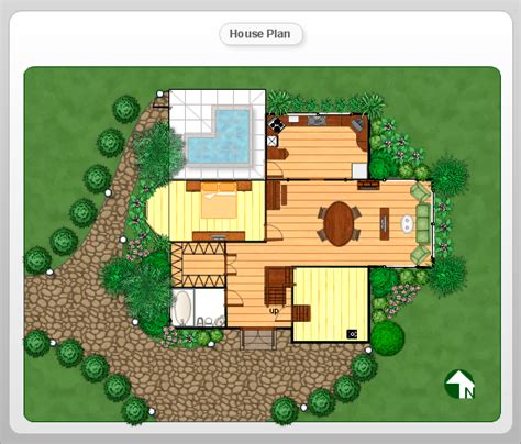 house plans with landscaping house plan clipart 29