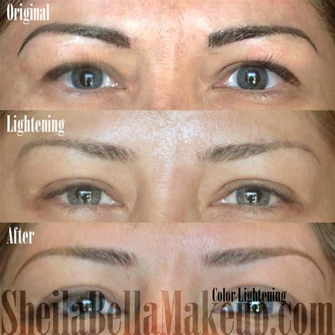 los angeles permanent makeup eyebrows powdered 13 sheila
