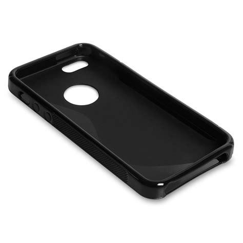 Line Iphone 5 5s caseflex iphone 5 5s s line gel black mobile m