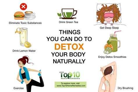 How To Do A Cleanse Detox At Home by 10 Things You Can Do To Detox Your Naturally Top 10