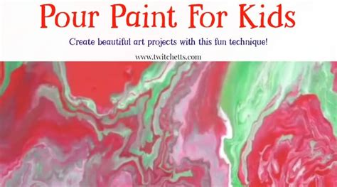 pour painting projects  supplies  kids  beginners