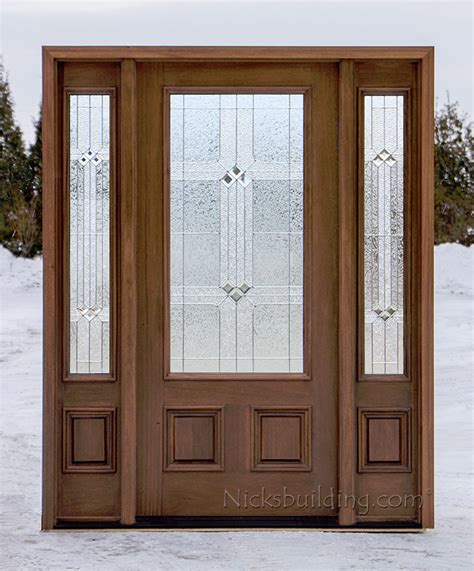 Affordable Doors by Affordable Mahogany Front Doors With Walnut Finish