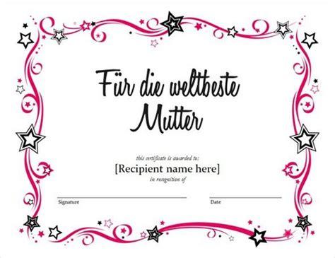 15 kostenlose Muttertag und Vatertag Gutschein Vorlagen