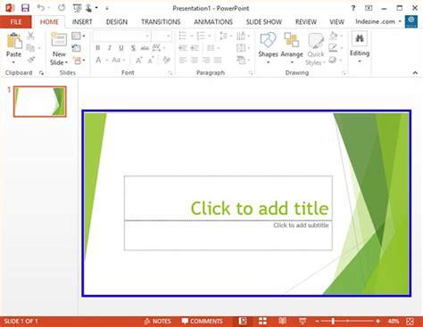 powerpoint widescreen tutorial widescreen defaults in powerpoint 2013 for windows