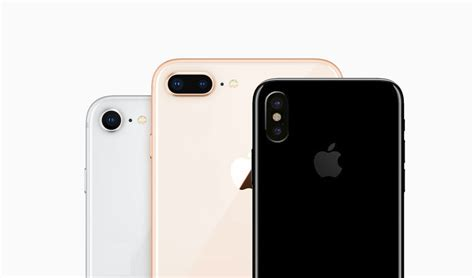 imagenes iphone 8 plus iphone x iphone 8 y iphone 8 plus as 237 son sus c 225 maras y