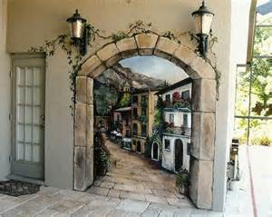 Outdoor Wall Mural Stencils murals mural garden outdoor murals garden walls outdoor walls outdoor