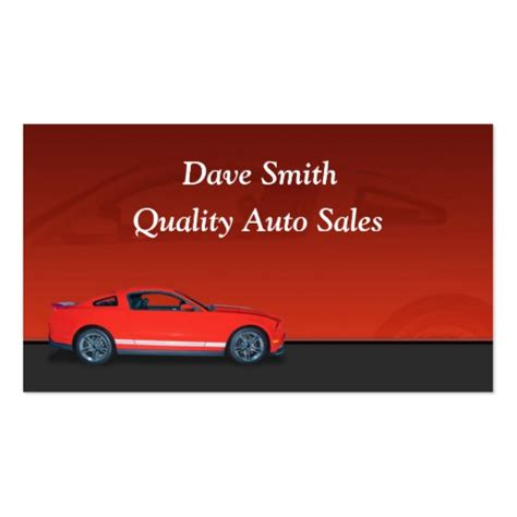 business cards car sales template car dealer gifts t shirts posters other gift