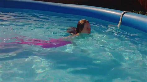 my is a mermaid there s a mermaid in my pool