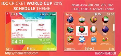 nokia x2 cricket themes icc cricket world cup 2015 themes themereflex