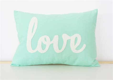 images of love pillow light teal love pillow mother s day gift