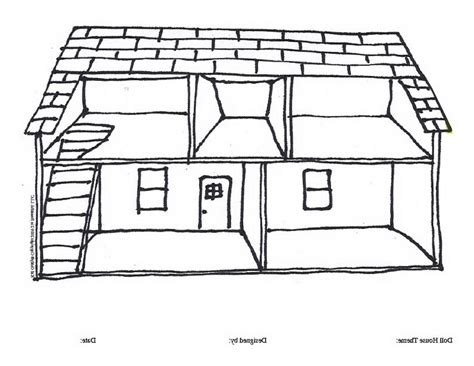 coloring pages of things inside a house image of house for colouring house image