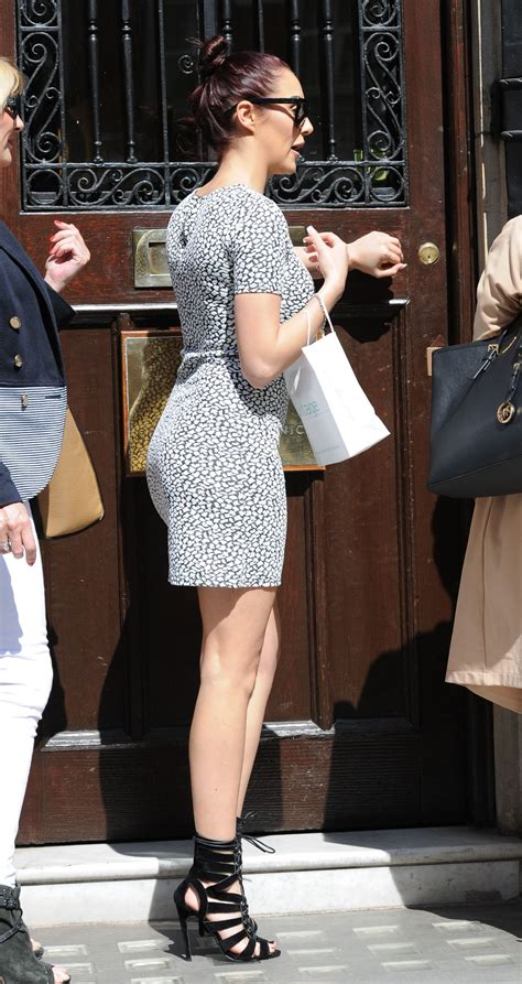 house clinic chloe goodman shows off her legs court house clinic in london april 2015