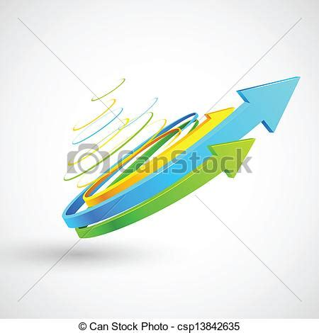 freccia clipart colorito torto freccia illustrazione colorito freccia