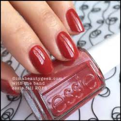 nail polish color for june 2014 essie quot with the band quot nail polish from essie fall 2015