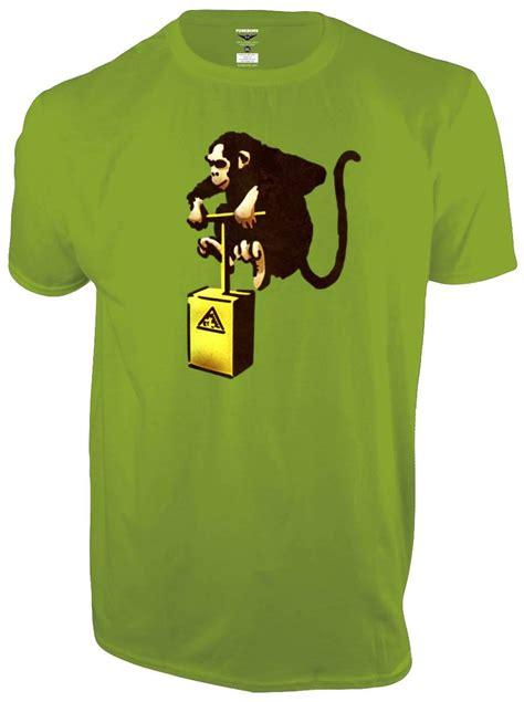 T Shirt Monkey banksy quot monkey detonator quot t shirt