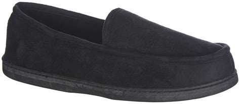 dockers mens slippers dockers mens microsuede loafer slippers ebay