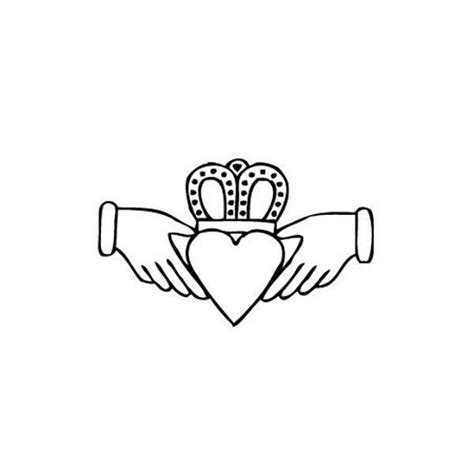 claddagh line drawing www pixshark com images