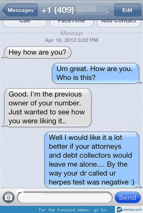 Texting Meme - funny text message memes