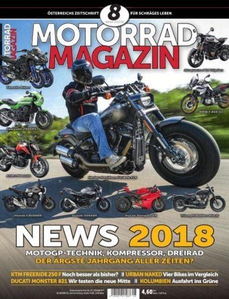 Motorrad Magazin No 11 by Motorrad Magazin Winter 2017 2018 Pdf Free
