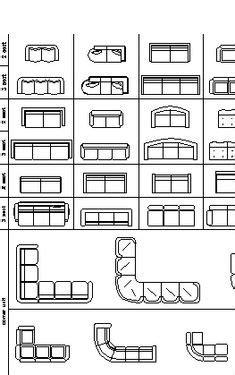 furniture templates for floor plans autocad archblocks autocad refrigerator block symbols drafting