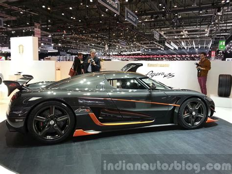 koenigsegg india koenigsegg agera rs side profile at the 2015 geneva motor