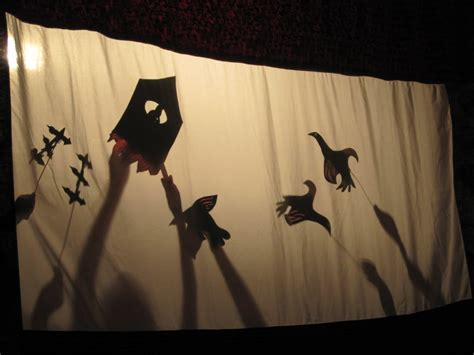 How To Make Paper Shadow Puppets - shadow puppets for our orchestra shadow