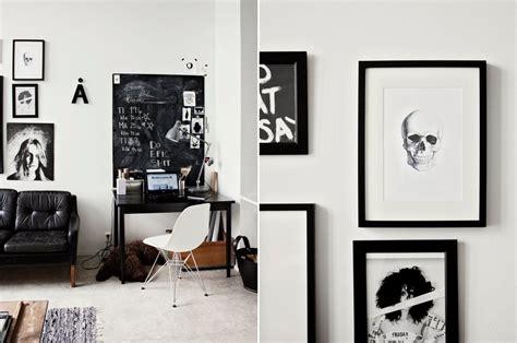 imagenes en blanco y negro para decorar el estilo chic de una decoraci 243 n en blanco y negro